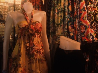 Clothes stall at Hua Hin Night Market