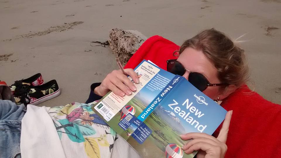 Reading the Lonely Planet