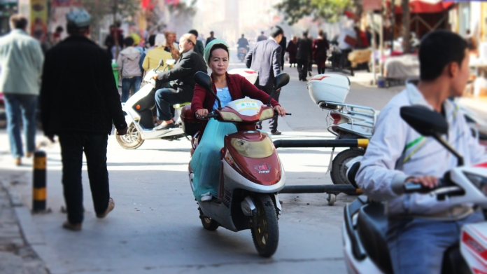 Kashgar Woman Moto